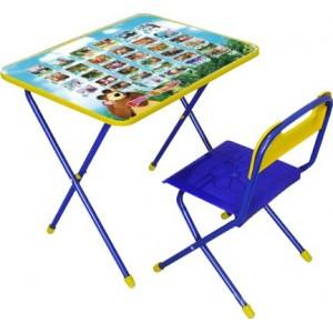 """Комплект (стол+стул) """"Маша и медведь """"Азбука"""""""